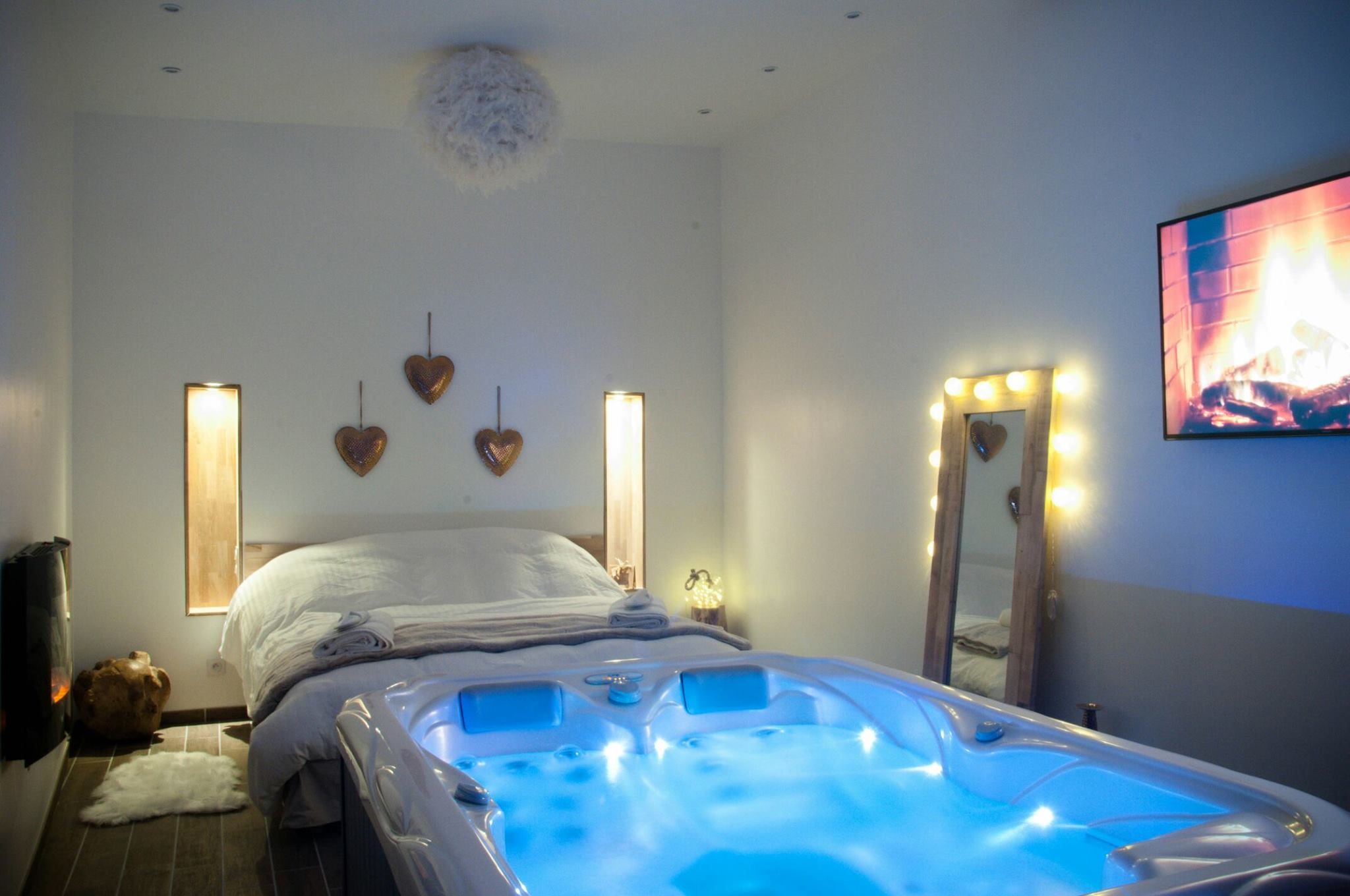 Hotel Chambre Spa Privatif Rect Hotels Jacuzzi Hotel Du With